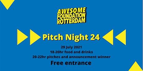 Awesome Foundation Rotterdam - Pitch Night 24 tickets