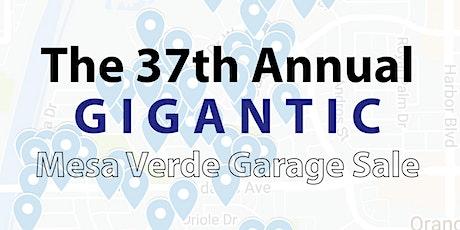 Mesa Verde's 37th Annual Garage Sale tickets