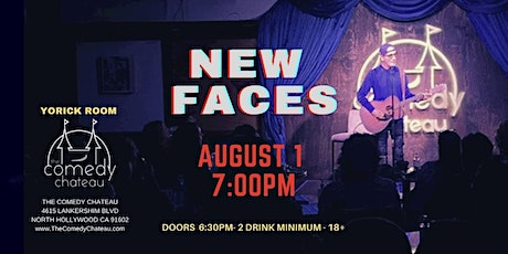 Comedy Chateau presents: New Faces  (8/1) tickets