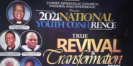 2021 NATIONAL YOUTH CONFERENCE (CAC) tickets