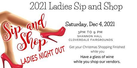 Ladies Sip and Shop 2021 tickets