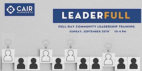 Community Leadership Training: Leaderfull tickets