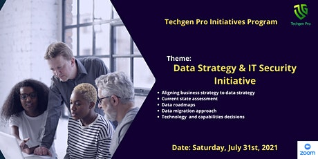 Techgen Pro Data Strategy & IT Security Networking Session tickets