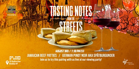 Tasting Notes From The Streets Watch Party and Tasting tickets