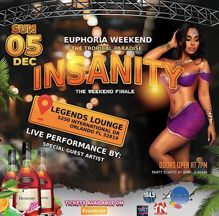 "Insanity The Weekend Finale ""Euphoria Weekend image"