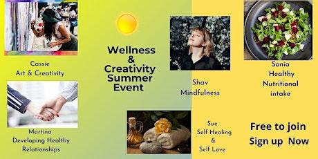 Wellness & Creativity Summer Event tickets