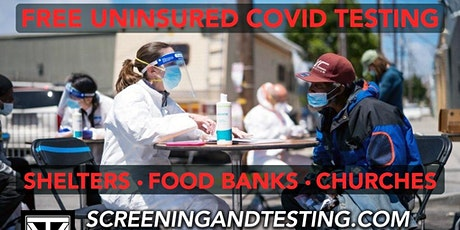 #TestingSavesLives - COVID-19 Testing Brought to Your Community tickets
