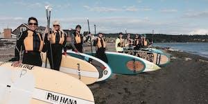 Find Balance: Whidbey Island Paddleboard Yoga Retreat