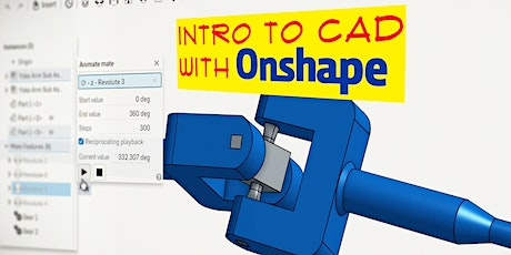 Intro to CAD with OnShape tickets
