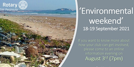 Environmental Weekend information session tickets