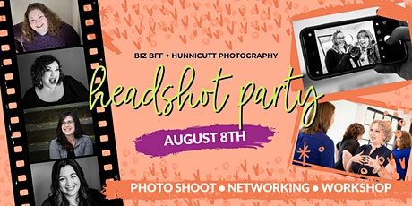 Headshot Party - photo shoot, workshop, networking, & mimosas! tickets