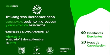 11° Congreso Iberoamericano CIDEC 2021 entradas
