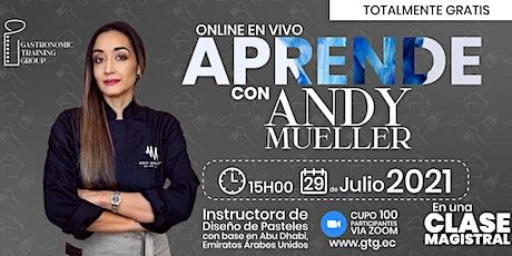 Aprende con Andy Mueller boletos