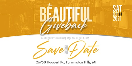 The Beautiful Give Back tickets
