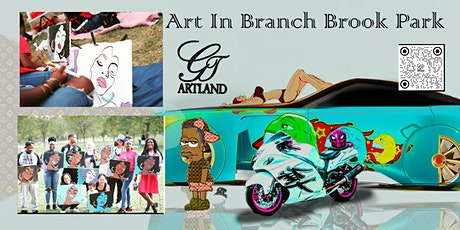 Art in Branch Brook Park Picnic Byob Social Fun tickets