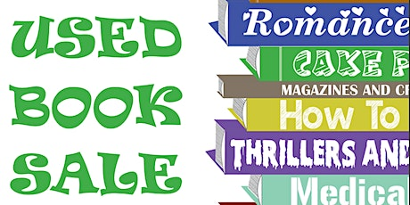Used Book Sale tickets