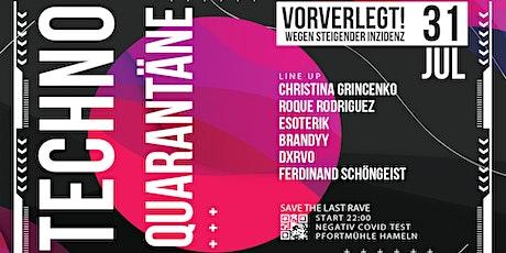 Techno Quarantäne #3 Tickets