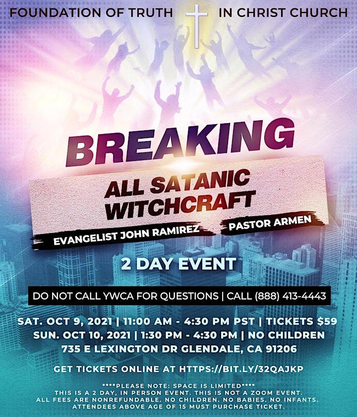 Breaking All Satanic Witchcraft With Evangelist John Ramirez & Pastor Armen image