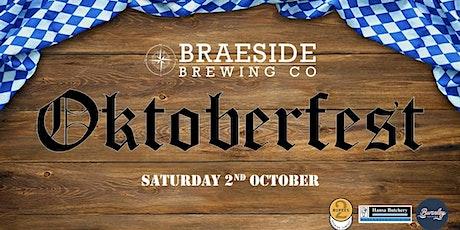 Oktoberfest @ Braeside Brewing Co tickets