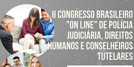 """II Cong Bras """"on line"""" Pol Jud  Direitos Humanos e Conselheiros Tutelares ingressos"""