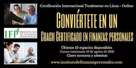 Conviértete en un Coach Financiero Internacional tickets