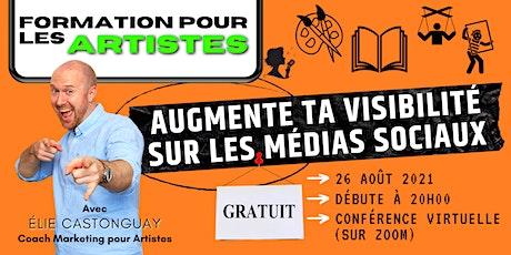RIVIÈRE-DU-LOUP Augmente ta confiance sur les médias sociaux comme artiste billets