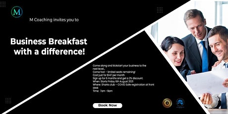 Business Breakfast with a difference! tickets