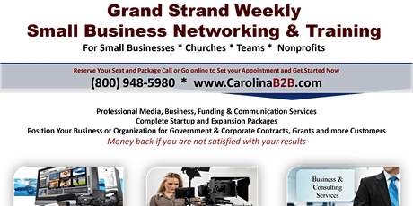 Grand Strand Small Business Networking - Longs, SC tickets