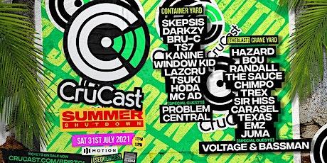 Sequences Present Crucast Summer Shutdown! tickets