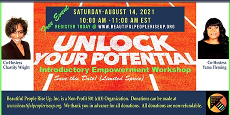 Unlock Your Potential (Introductory Empowerment Workshop) tickets