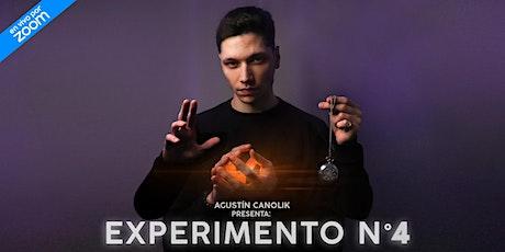Agustín Canolik presenta: Experimento N°4 entradas