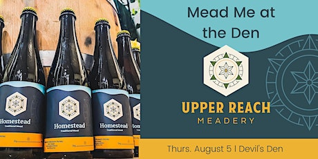 Mead Tasting and Pairing with Upper Reach Meadery tickets