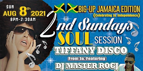 2ND SUNDAYS SOUL SESSION WITH TIFFANY DISCO tickets