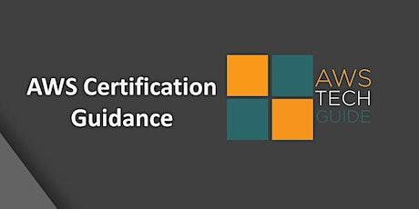 AWS Cloud Practitioner certification guidance bilhetes