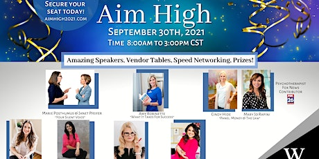 Aim High 2021 Speed Networking Conference tickets