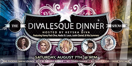 The Divalesque Dinner Show tickets