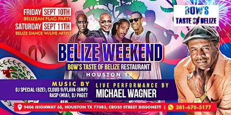 Belize Weekend, FLAG PARTY highlighting Belize September Celebrations. tickets