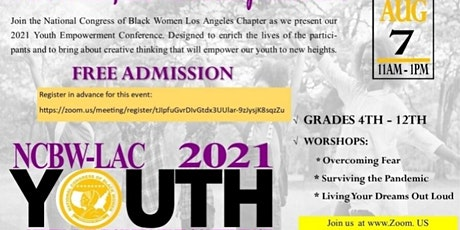NCBW-LAC  - 2021 YOUTH EMPOWERMENT CONFERENCE tickets