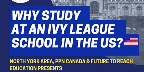 Why Study at an Ivy League School in the US? tickets