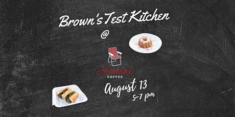 Brown's Test Kitchen  Pop-up tickets