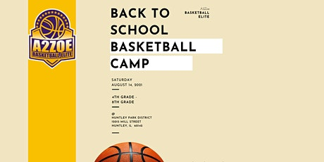 Back to School Basketball Camp tickets