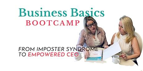 Business Basics Bootcamp tickets