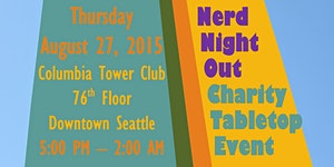 3rd Annual Pre-PAX Nerd Night Out Charity Tabletop...