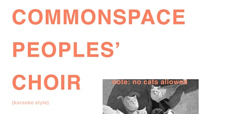 commonspace peoples choir tickets