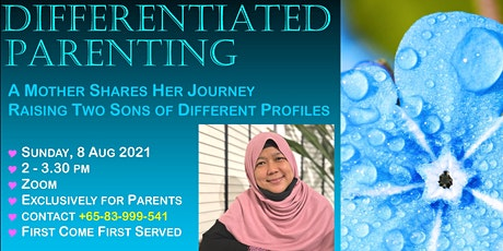 Differentiated Parenting - Raising Children of Different Profiles tickets