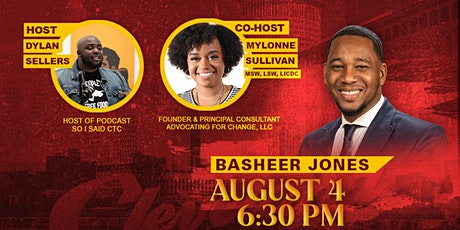 Conversation with the Candidates: Basheer Jones tickets