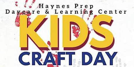 Kids Craft Day tickets