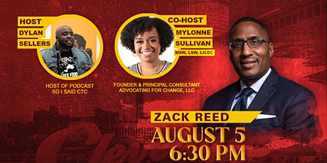 Conversation with the Candidates: Zack Reed tickets