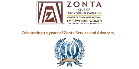 Zonta Troy-South Oakland Dinner Anniversary tickets