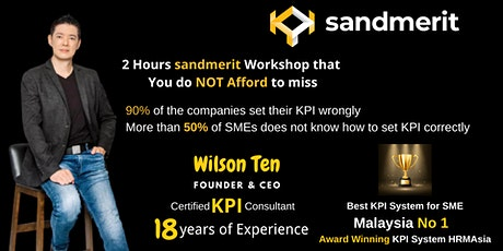 Free  sandmerit KPI Webinar: How to track employees' KPI effectively? tickets